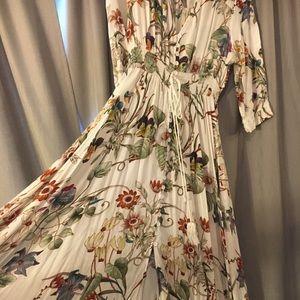 Beautiful Flowered Maxi Dress